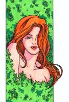Poison Ivy Headshot by RichBernatovech