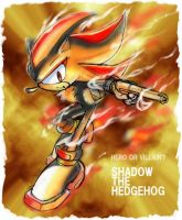 Shadow with the gun by manaita