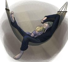Naptime in the Brig by iesnoth