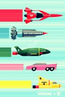 THUNDERBIRDS! by J-MEDBURY