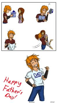 Father's Day Announcement. by Fenz-art