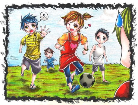 Let's Play Soccer! by nugraha-cliche