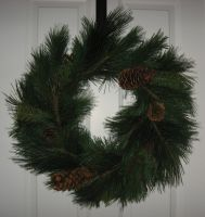 Christmas Wreath 3 by GreenEyezz-stock