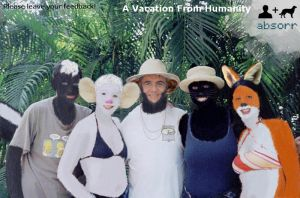 A Vacation From Humanity by absorr