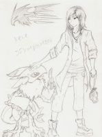 Digimon: Stymphmon and Kele by Fly-Sky-High