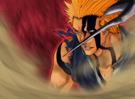 Bleach 675 - Ichigo-Hollow by Salty-art