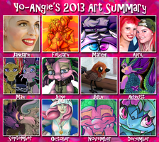 Art Summary 2013 by Yo-Angie