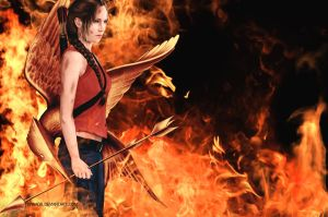 The Girl on Fire by nanadb