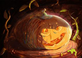 Pumpkin by Inkaeo