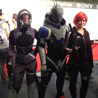 Mass Effect team at Fanexpo 2014 by nikkoulove