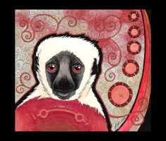 Coquerel's Sifaka as Totem by Ravenari