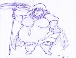 Haqua really let herself go by Oda-Lee