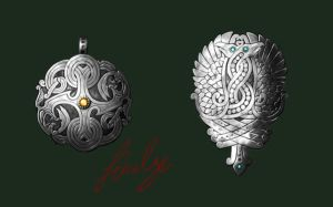 Ancient Jewelry -Concept by Feivelyn