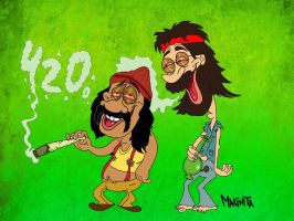 Happyyyy 420 by Makinita