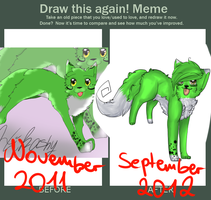 MEMEE DRAW THIS AGAIIN by CrazyKaorix3