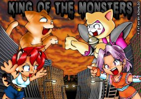 King of the Monsters by freelancemanga