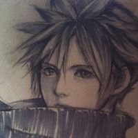 Cloud Strife by thumbelin0811