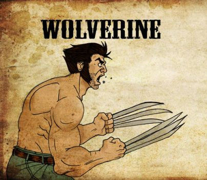 Wolverine by Boonchieboy