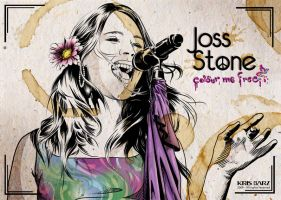 Joss Stone - Colour me free by krisagon
