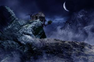 old house by black-kittie