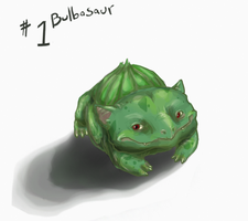1 Bulbasaur by PokePsych
