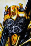 TF: ROTF Bumblebee face detail by Scraplet