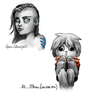 Alice and Pain by Imrooniel