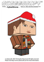 Cubeecraft - 11th Doctor 'Ver7' by CyberDrone