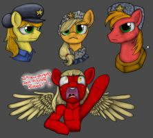 Apple Family....RUSSIANS??! (By MRDDragon) by The-Nuclear-Pegasus