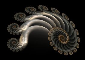 Silver spiral by eReSaW