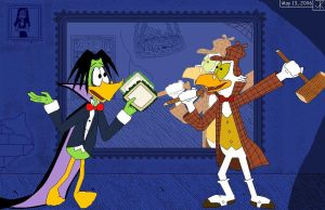 Duckula--Vegetarian Vampire by Captain-Chaotica