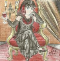 Supreme Empress of Vampires by DracorusTerra