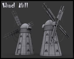 Speed Modeling Windmill by andrei313
