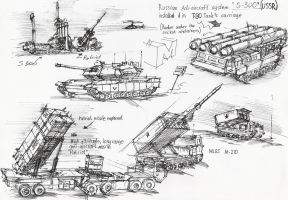Military machines by Aftermath1990