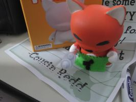 Munny: Birthday Crazy Redd by leannetran