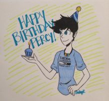 Percy Birthday by PoorArtistGirl27