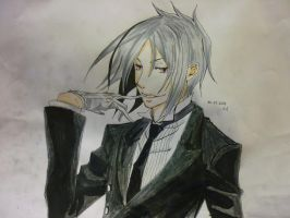 Sebastian Michaelis by khrevolutions