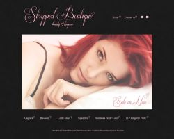 Stripped Boutique Website by novastunna