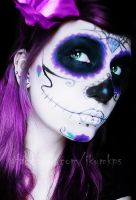Evil Dolls logo makeup by IkuLestrange
