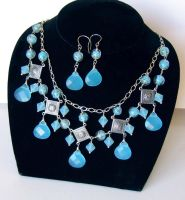 Blue Egyptian style set by bchurch