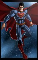 The Man of Steel by ErikVonLehmann