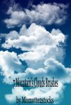 Brushes 1 - clouds brushes by Momotte2stocks