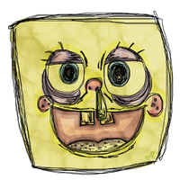ADAD 1- Sponged-Bob by ianee