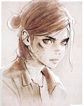The Last of Us Part 2 by Kuvshinov-Ilya