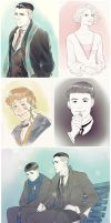 Fantastic Beasts by LinART