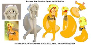 Summer Time Peaches Figure by CookingPeach