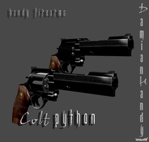 Colt Python 'First Attempt' by DamianHandy