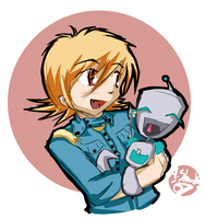 Gir and Seras by Alystar