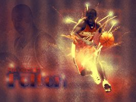 Raymond Felton by metalhdmh
