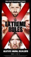 WWE EXTREME RULES 2015 by Lucke49